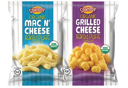 Snikiddy Mac 'n Cheese Puffs, Grilled Cheese Puffs