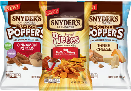 Snyder's of Hanover pieces and poppers, Snyder's-Lance