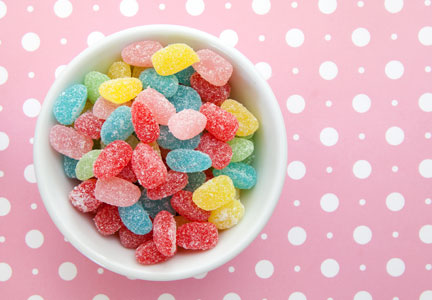 Sour candies, confectionery