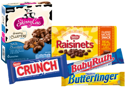 Nestle confectionery brands