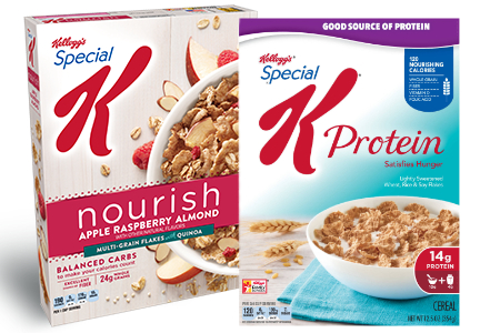 Special K cereal, Kellogg