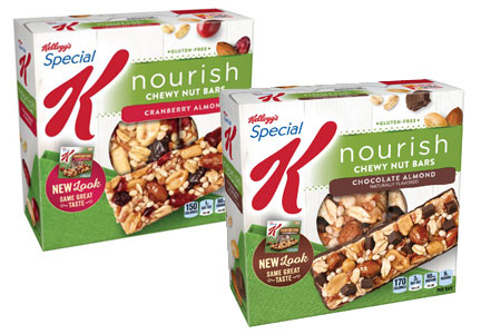 Special K Nourish chewy granola bars