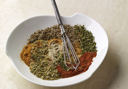 Bowl of spices