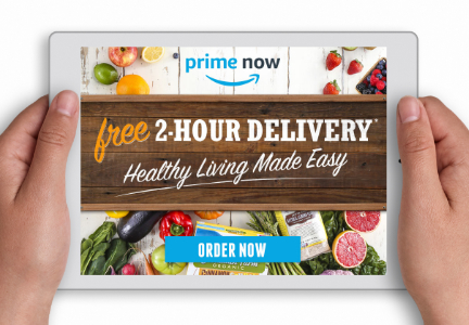Sprouts Farmers Market Amazon Prime Now partnership