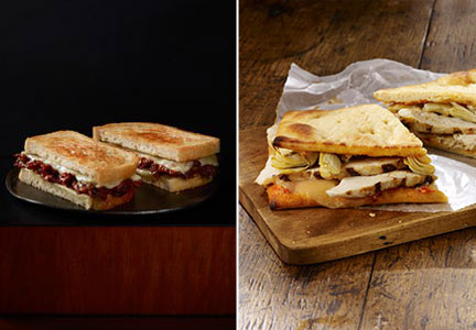Starbucks sandwiches