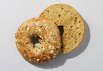 Starbucks vegan sprouted grains bagel