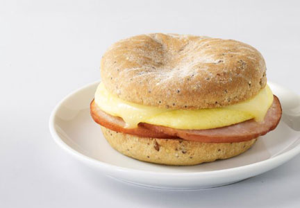 Starbucks gluten-free breakfast sandwich