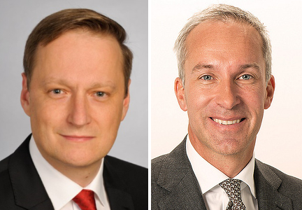 Stefan Palzer and Heiko Schipper, Nestle