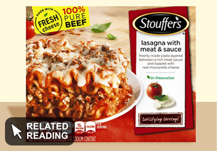 Why Nestle changed its lasagna recipe