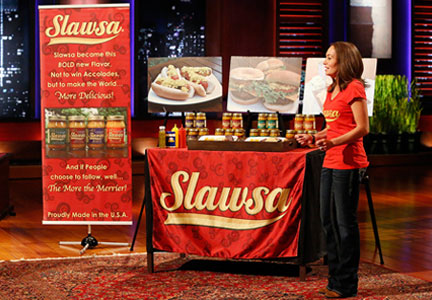 Slawsa founder on Shark Tank