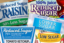 Sugar reduction
