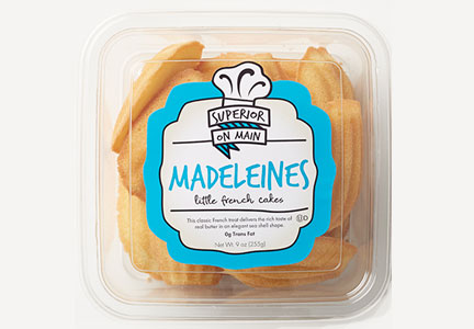 Superior Cake Products Madeleines cookies, Hostess