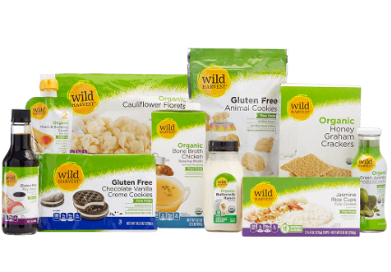 Supervalu Wild Harvest organic and free-from brand