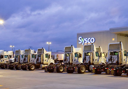 Sysco Corp. distribution center