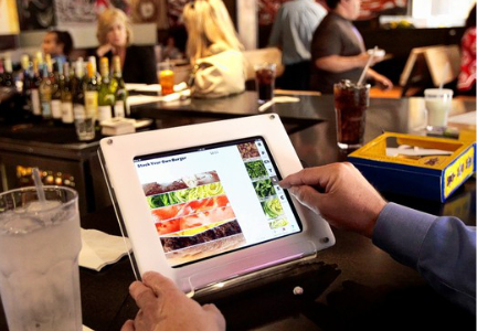 Restaurant tablet ordering