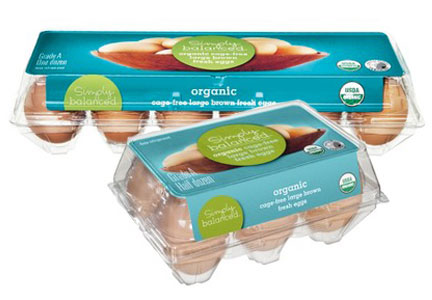 Target Simply Balanced organic cage-free eggs