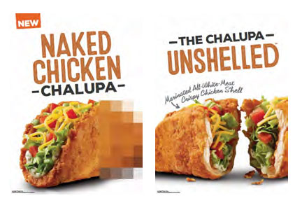 Taco Bell new chalupas
