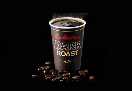 Tim Hortons dark roast coffee, Restaurant Brands
