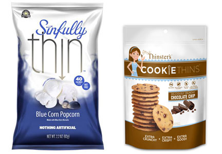 Sinfully Thin Popcorn, Mrs. Thinster's Cookie thins