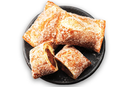 Tim Horton's Nutella Pastry Pockets