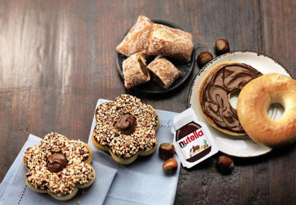 Tim Hortons Nutella offerings, Restaurant Brands