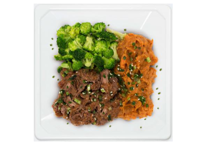 Tastefully Plated paleo beef meal