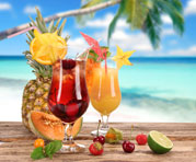 Tropical fruits and flavors