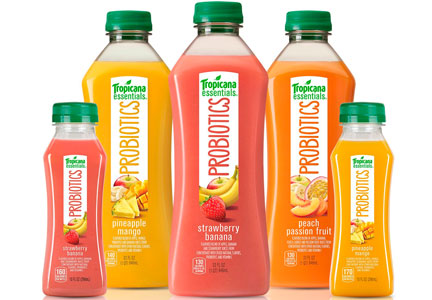 PepsiCo Tropicana with probiotics