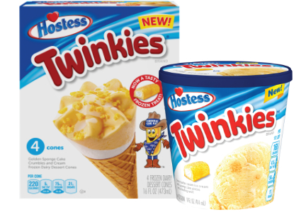 Hostess Twinkies ice cream