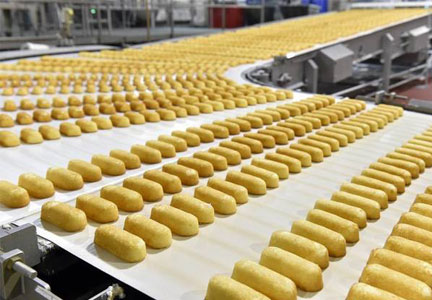 Twinkie factory line, Hostess