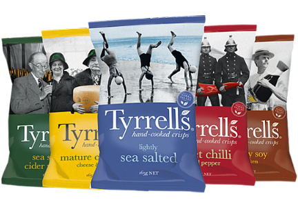 Tyrrells chips, Amplify Snack Brands