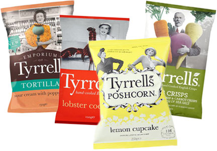 Tyrrells snacks