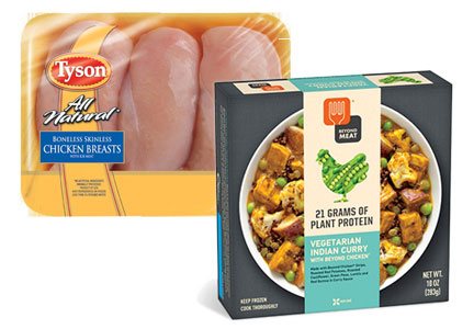 Tyson Foods and Beyond Meat