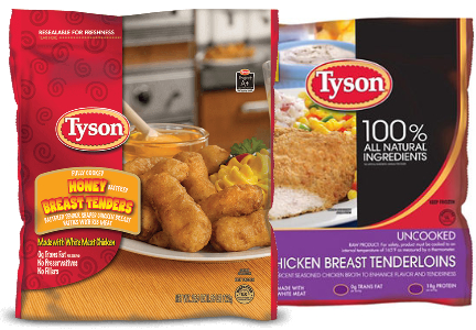 Tyson value-added chicken