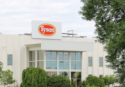 Tyson Foods Council Bluff, Iowa plant