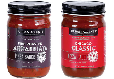 Urban Accents pizza sauces