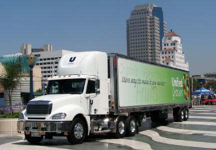 Unified Grocers truck, SuperValu