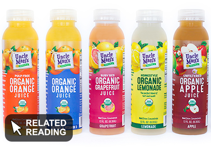 Dean Foods acquires organic juice company
