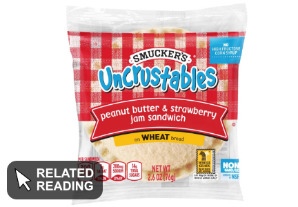 Smucker's Uncrustables updated with new recipe