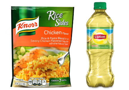 Unilever food and beverage - Knorr, Lipton