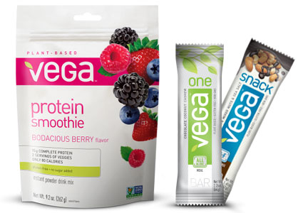 Vega products, WhiteWave Foods