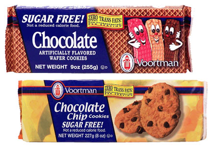 Voortmans chocolate chip and chocolate wafer cookies