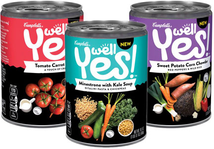 Campbell Soup Well Yes! soups