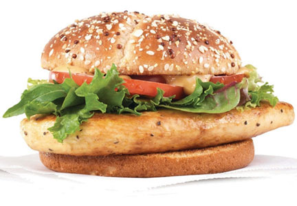 Wendy's chicken sandwich
