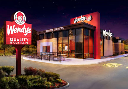 New Wendy's restaurant design