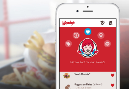 Wendy's mobile ordering