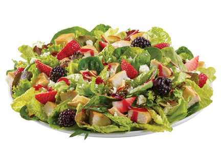 Wendy's Summer Berry Chicken Salad