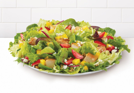 Wendy's Strawberry Mango Chicken Salad