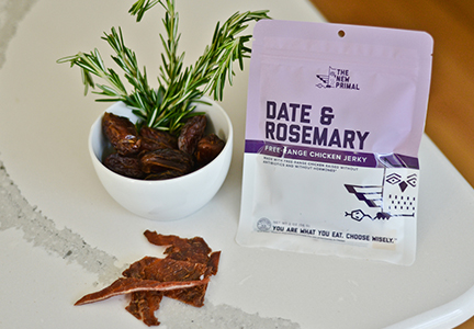 The New Primal Date and Rosemary Chicken Jerky