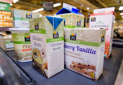Whole Foods Market 365 Organic products